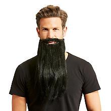 Barbe 'motard', noir