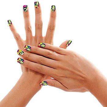 Fingernägel 'Ink Color'