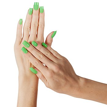 Fingernägel 'Neon Green'