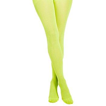 Strumpfhose 'Lime-Green Glitter'