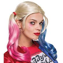 DC Comics Perücke 'Harley Quinn'