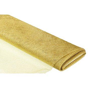 Netzstoff metallic, gold