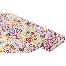 Tissu universel 'paix', multicolore