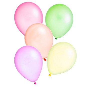 Luftballons 'neon', bunt 50 Stück