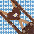 """Papierservietten """"Trachtenzeit"""", 33 x 33 cm, 20 Stück"""