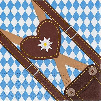 Papierservietten 'Trachtenzeit', 33 x 33 cm, 20 Stück