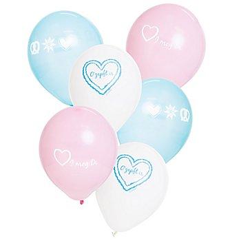 Luftballon 'Trachtenzeit', 6 Stück