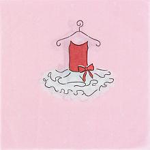 Papierserviette 'Ballerina', 33 x 33 cm, 20 Stück