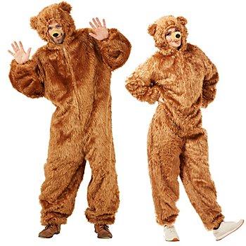 buttinette Déguisement 'ours brun' pour hommes et femmes