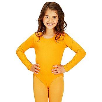 Body manches longues pour enfants, orange