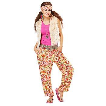 buttinette Hippie-Kostüm 'Crazy' für Damen
