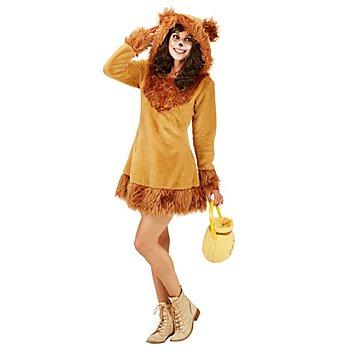 buttinette Braunbär-Kostüm für Damen