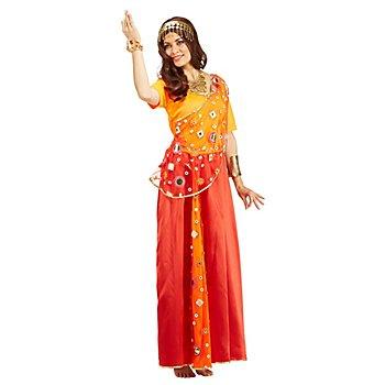 Orient-Kostüm 'Schariadne' für Damen, orange/rot