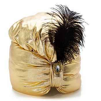 buttinette Orientalischer Turban, gold