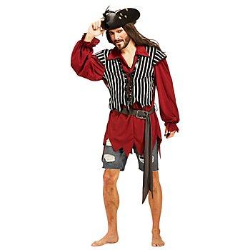 Déguisement Haut de pirate pour hommes