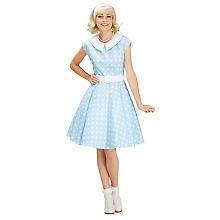 buttinette Rock'n'Roll-Kleid, pastellblau