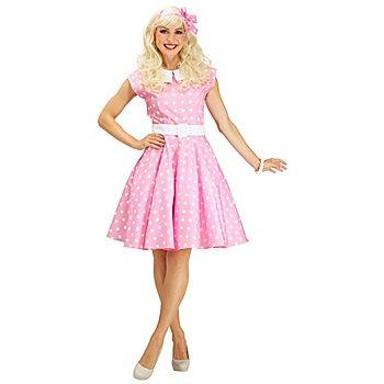 buttinette Rock'n'Roll-Kleid, pastellrosa