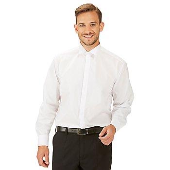 Frackhemd für Herren, weiss