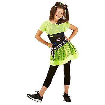 déguisement disco 'neon lips', pour enfants