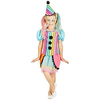 Clown-Kostüm 'Rainbow' für Kinder
