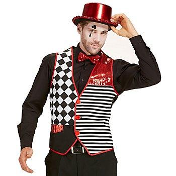 Weste 'Pierrot' für Herren