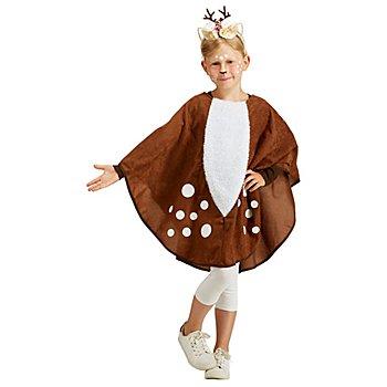Reh-Poncho 'Kitz' für Kinder