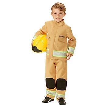 Kinderkostüm 'Feuerwehrmann', ocker