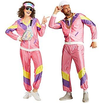 Trainingsanzug '80er' für SIE und IHN