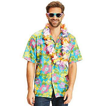 Hawaiihemd 'Hibiskus'