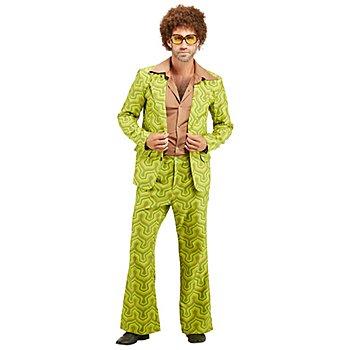 Retro-Anzug für Herren, grün