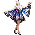 "Schmetterling-Kostüm ""Fantasia"" für Damen, lila/blau"