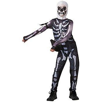 Epic Games Fortnite 'Skull Trooper' Kostüm für Kinder