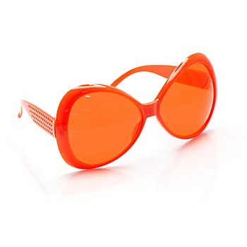 Hippie-Brille, orange