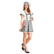 Köchin Kostüm für Damen