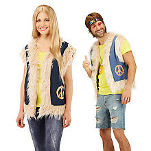 buttinette Veste de hippie en jeans pour hommes et femmes