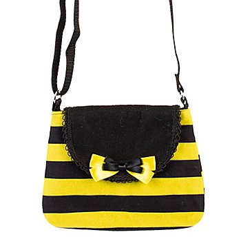 buttinette Tasche 'Biene', gelb/schwarz