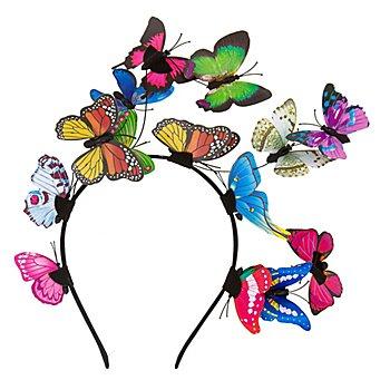 Haarreif 'Schmetterlinge'