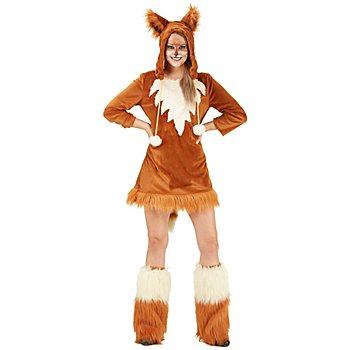 buttinette Füchsin-Kostüm für Damen