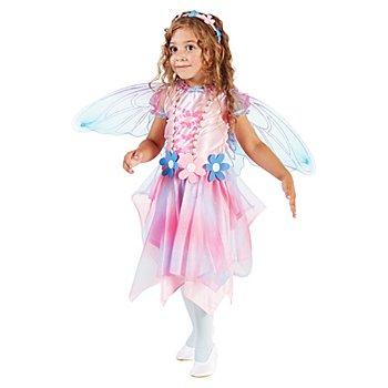 Déguisement de fée 'bella', pour enfants, rose/bleu clair