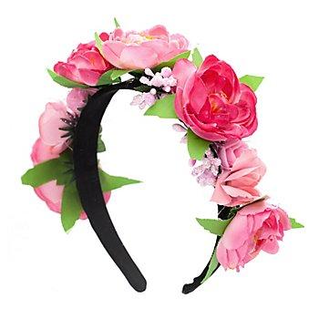 Haarreif 'Rose', rosa