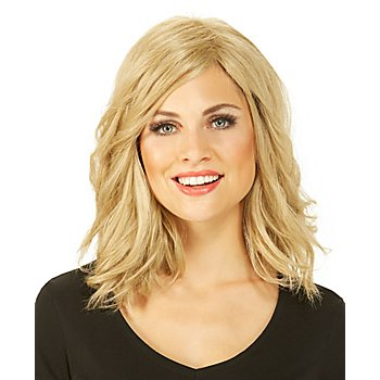 Halblange Perücke 'Wellen', blond