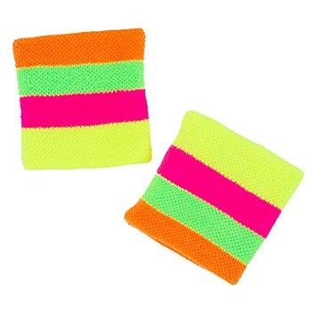 Schweissbänder 'Neon', 2 Stück