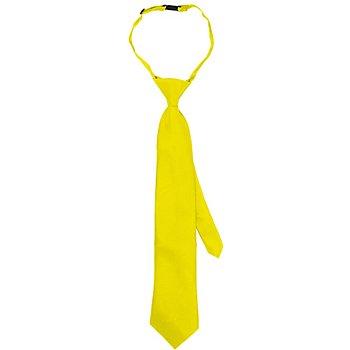 Cravate, jaune