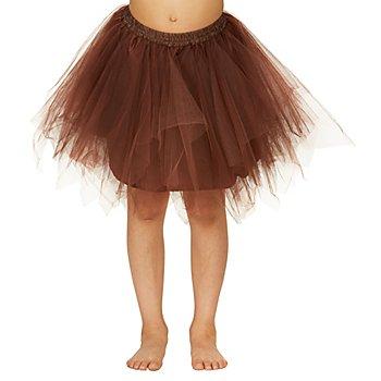 Tutu für Kinder, braun