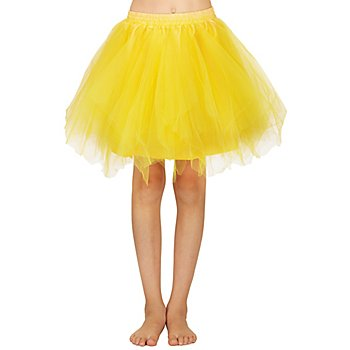 Tutu für Kinder, gelb