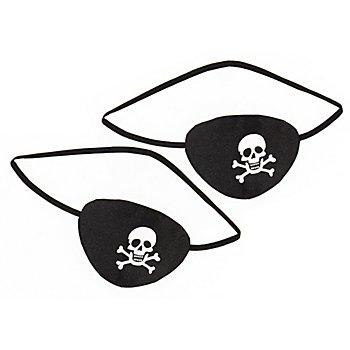 Augenklappen 'Pirat', 2 Stück
