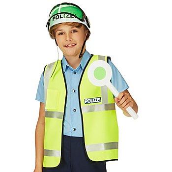 Kinder-Weste 'Polizei', neongelb