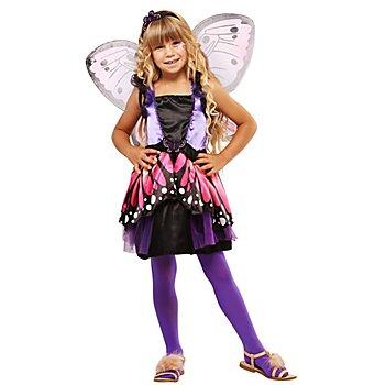 Schmetterling-Kostüm 'Fantasia' für Kinder, lila/orange