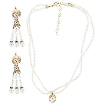 20er-Jahre-Schmuckset 'Perlen'