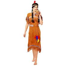 Kleid Indianerin 'Nadua'